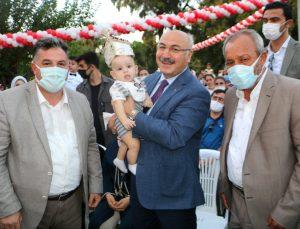 Başkan Doğruer, sünnet çocuklarını yalnız bırakmadı