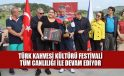 Çekya'da düzenlenen Türk Kahvesi Kültürü Festivali tüm canlılığı ile devam ediyor