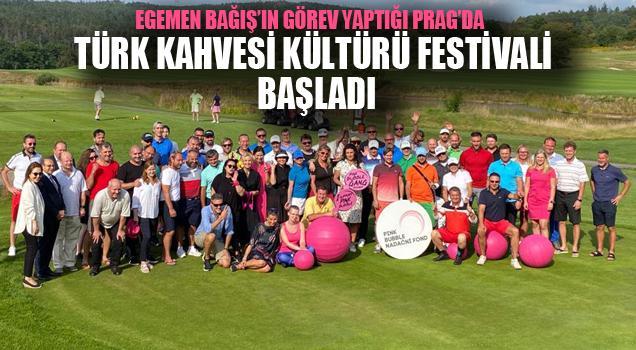 Prag'da ilk kez düzenlenen Türk Kahvesi Kültürü Festivali başladı