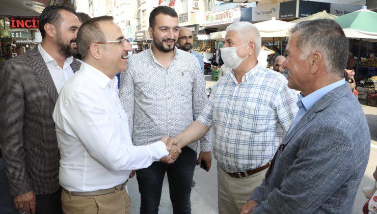 AK Parti İzmir İl Başkanı Sürekli'den Tire çıkarması